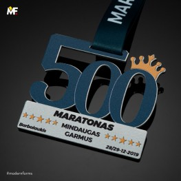Medal 500 Maratonas
