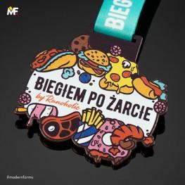 Medal Biegiem po żarcie