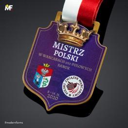 Medal Mistrzostwa Polski w Warcabach
