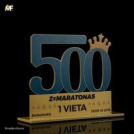 Statuetka 500 Maratonas
