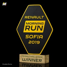 Statuetka Renault Morning Run
