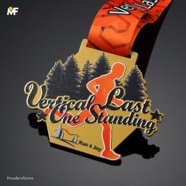 Medal Vertical Last One Standing